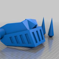 Télécharger fichier STL gratuit Masque Mazinger Z Covid (WIP) • Plan pour imprimante 3D, rostolaza