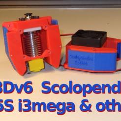 sg-P5150139.png Télécharger fichier STL gratuit Refroidisseur de scolopendra E3Dv6 pour X5S, i3mega et autres • Design imprimable en 3D, SgaboLab