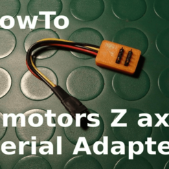 sg3-P9130118.png Download free STL file 2 Motors Serial Adapter for Z axis • 3D printable template, SgaboLab