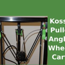 kossel-mod-title.png Download free STL file Kossel - angled wheels carts upgrade 2020 • 3D print template, SgaboLab