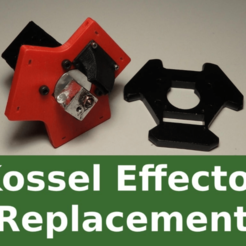 sg3-P8220037.png Download free STL file kossel Effector Replacement - clone of original • Object to 3D print, SgaboLab