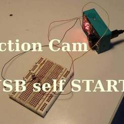 Download free 3D printing designs Self Start by USB, SgaboLab