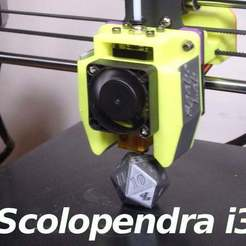 scolopendra-i3-02.jpg Download free STL file E3Dv5 - Scolopendra i3 Cooler for i3mega and other • 3D print model, SgaboLab
