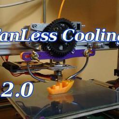 FanLessCoolingTitolo.jpeg Download free STL file Fanless Cooling Pieces 2.0 - 3drag / k8200 • 3D printer design, SgaboLab
