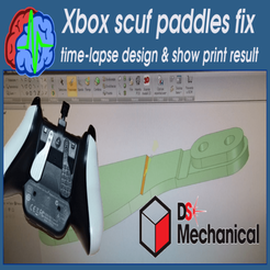 DSM-xbox.png Download free STL file Xbox One scuf paddles fix • 3D printable design, SgaboLab