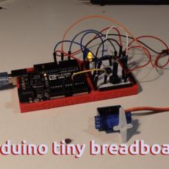 Télécharger plan imprimante 3D gatuit Arduino Uno, une petite planche à pain pratique, SgaboLab