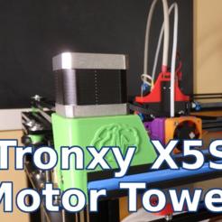 Download free 3D printing templates Tronxy X5S Motors Towers - CoreXY 3d Printer, SgaboLab