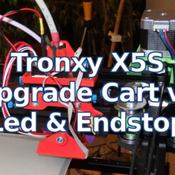 sg02-PC080049.png Download free STL file Tronxy X5S Upgrade Extruder Cart v2 - Leds & EndStop • 3D printable template, SgaboLab