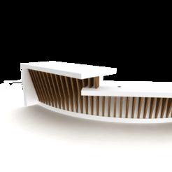 Desk Image 2.png Télécharger fichier STL Bureau d'accueil • Design pour imprimante 3D, optimusspurs2002