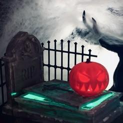Download free STL file Halloween Grave • 3D print model, Vrolak