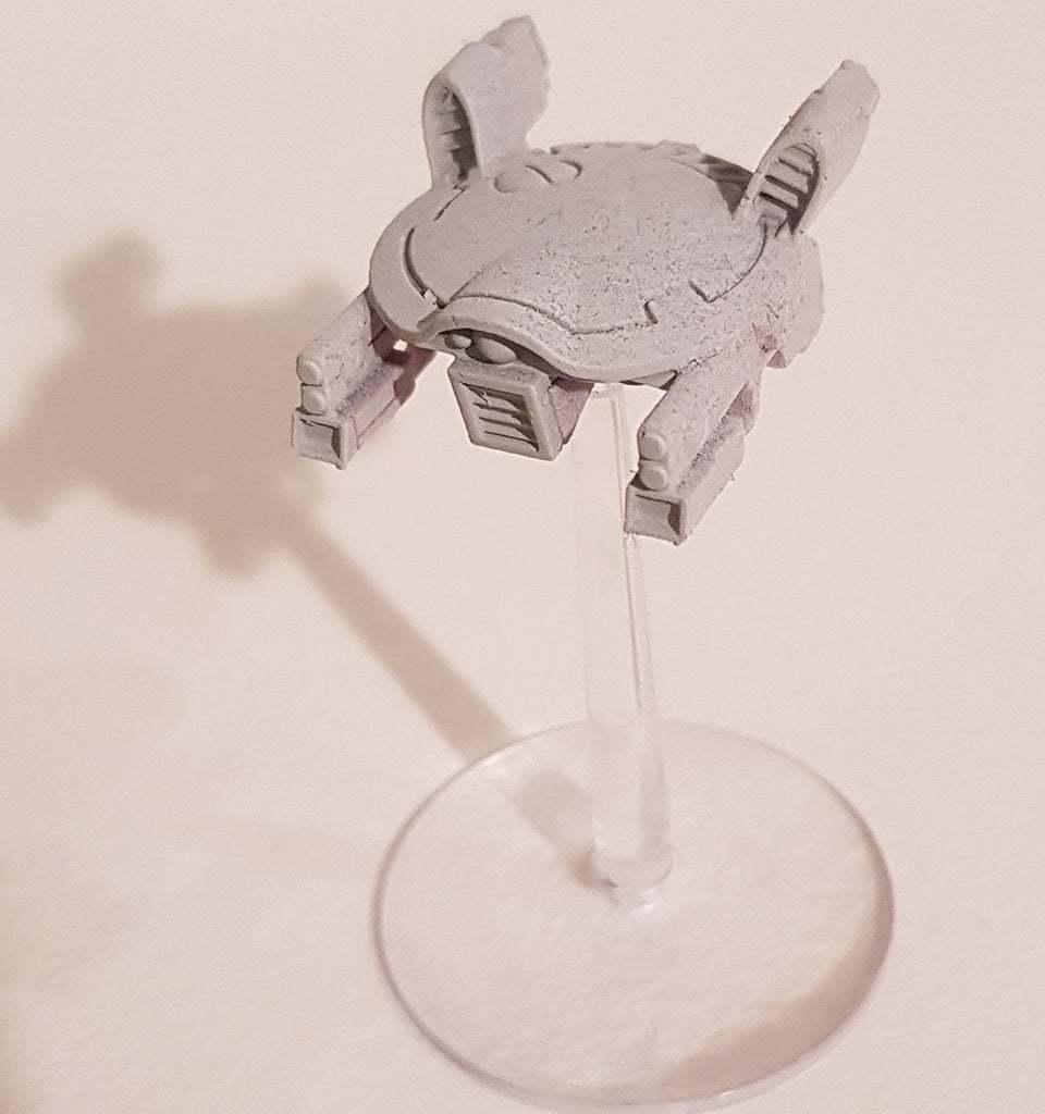 DronAC-Gun-v2_4.jpg Download free OBJ file Gun Drone AC • 3D printable object, ACavalle