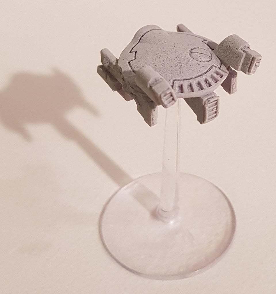 DronAC-Gun-v2_5.jpg Download free OBJ file Gun Drone AC • 3D printable object, ACavalle