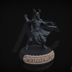 BB2.213.jpg Download STL file BloodBowl positions - 25 and 32mm - English • 3D printing object, ACavalle