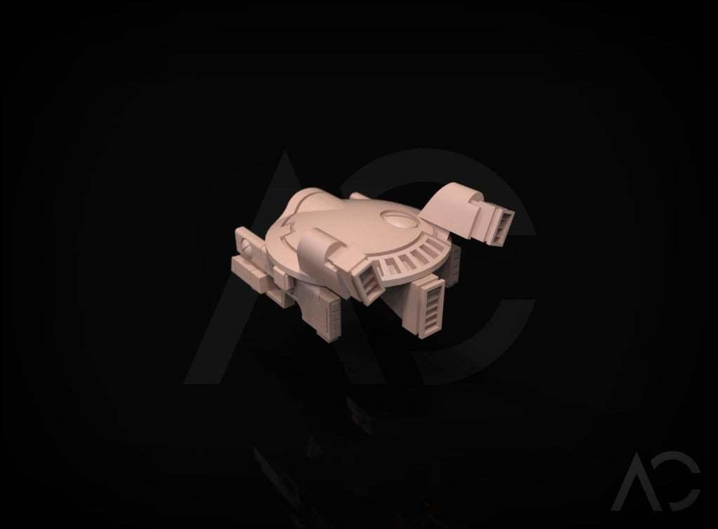 3d.127.jpg Download free OBJ file Gun Drone AC • 3D printable object, ACavalle