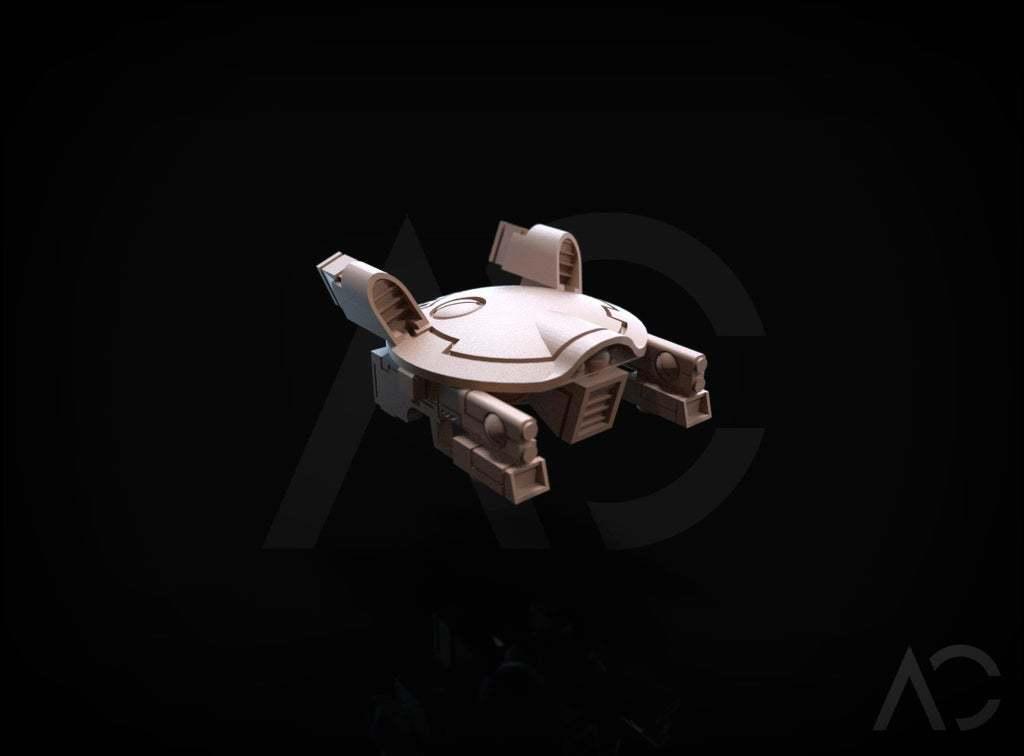 3d.126.jpg Download free OBJ file Gun Drone AC • 3D printable object, ACavalle