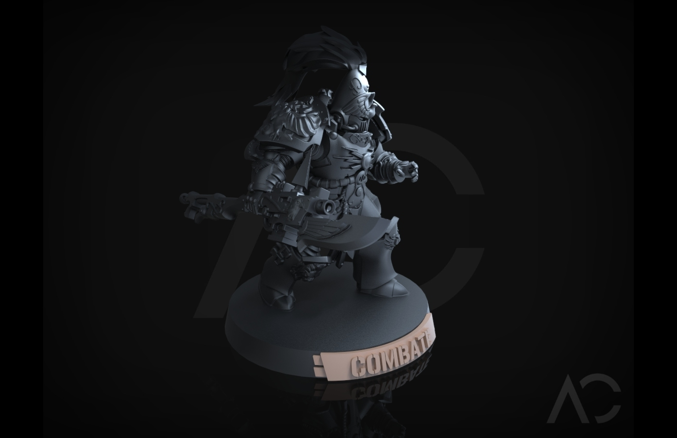 KT_25.147.jpg Download OBJ file Especialistas Kill Team - 40mm - Español • 3D print design, ACavalle