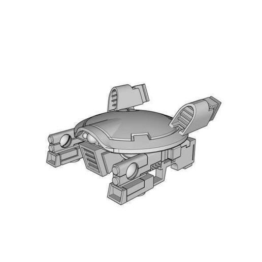 DronAC-Gun-v2_1.jpg Download free OBJ file Gun Drone AC • 3D printable object, ACavalle
