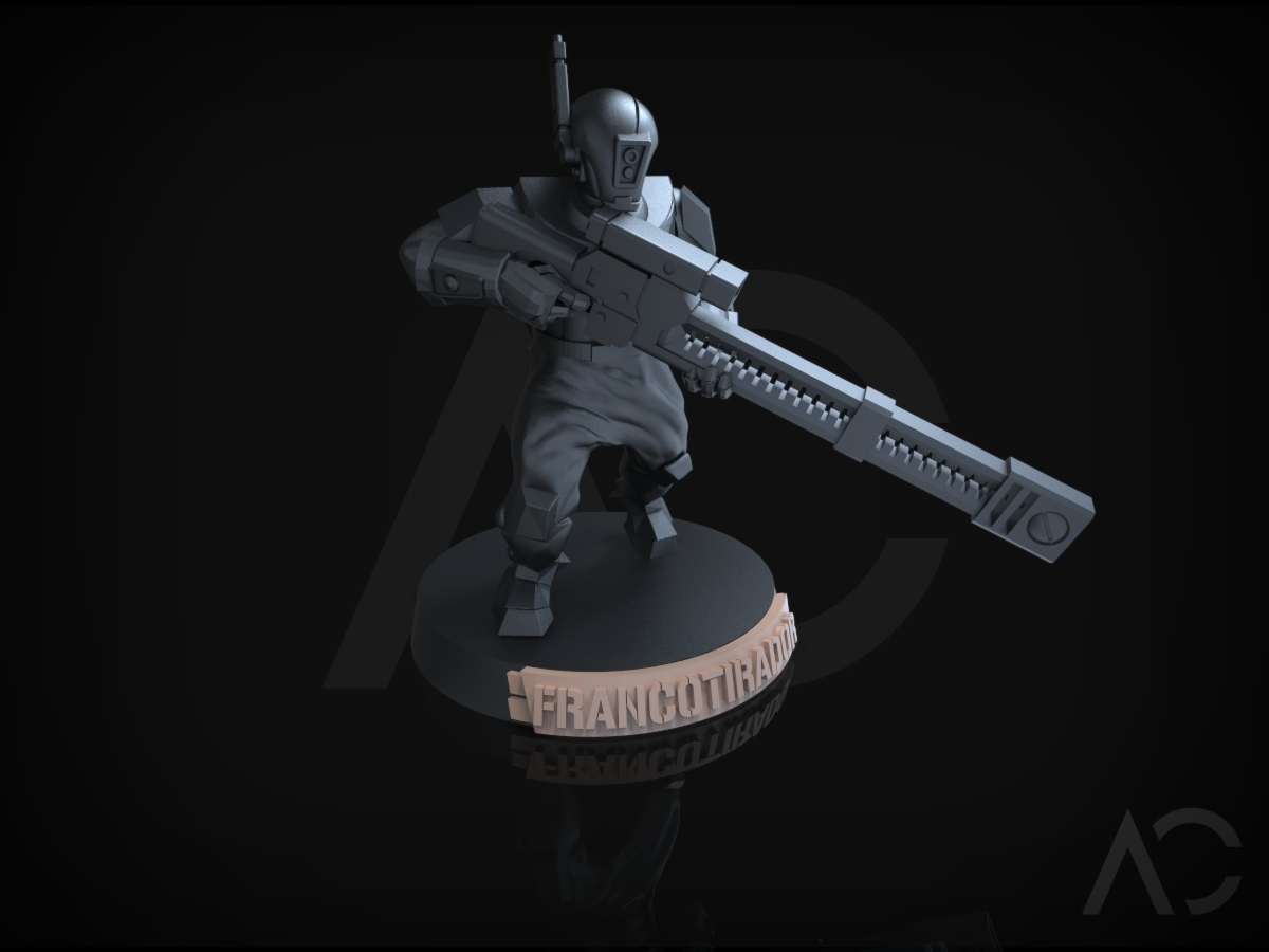 KT_25.144.jpg Download OBJ file Especialistas Kill Team - 25mm - Español • 3D printable design, ACavalle