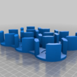 Download free STL file Splendor Coin Holders • 3D printing object, rtbrown560