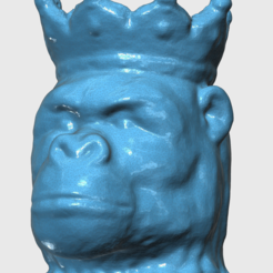 king_in_mesh.PNG Download STL file The King • Template to 3D print, Hypertechnic