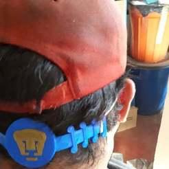 Download free STL file Ear saver - pumas UNAM, raymundoerre
