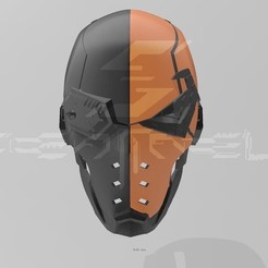 IMG_9857.jpeg Download STL file Deathstroke Helmet • Design to 3D print, cisnerosernie117