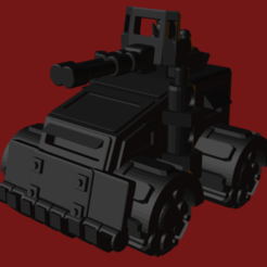 Ork Buggy 2.PNG Download STL file Ork Buggy 2 • Model to 3D print, beefsicle