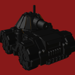 Ork Battle Tank.PNG Download STL file Ork Battle Tank • 3D printer design, beefsicle