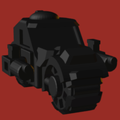 Ork Battle Bike.PNG Download STL file Ork Battle Bike • 3D printing design, beefsicle