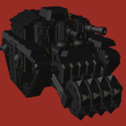 Ork Battle Fortress.PNG Download STL file Ork Battle Fortress • Model to 3D print, beefsicle