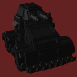 Ork Buggy.PNG Download STL file Ork Buggy • 3D printing model, beefsicle