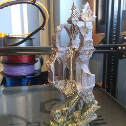 Download OBJ file Ancient Raven Castle • 3D printing model, Trappist