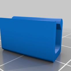 Visor_Clip_Thick_v1.png Télécharger fichier STL gratuit Clip pour visière d'écran facial • Design imprimable en 3D, espire020