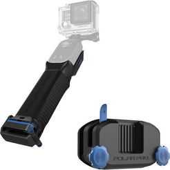 Download STL PolarPro Pro Grip Action Camera / Light Mount, div3boy