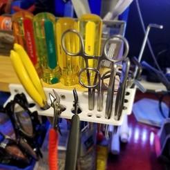 20200614_152840.jpg Download STL file MultiTool Hanger • 3D printer design, div3boy