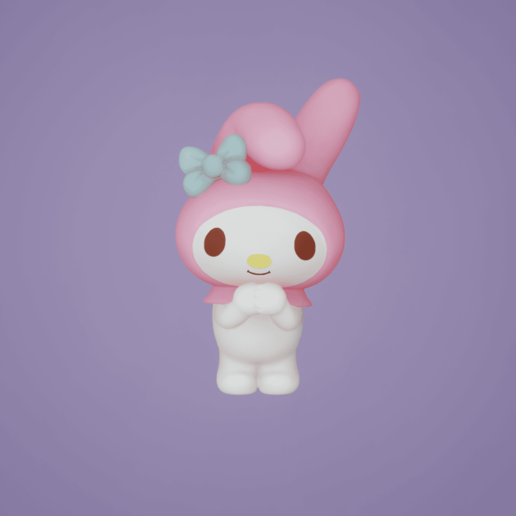 Download free 3D printing models My Melody, diego_66