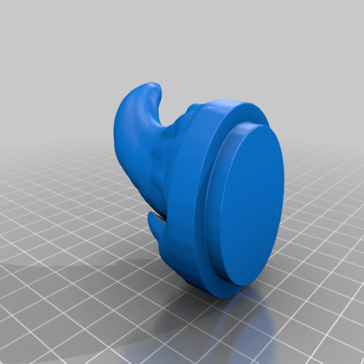 MimicBarrelMouth.png Download free STL file Supportless Barrel Mimic • 3D printable model, zeid