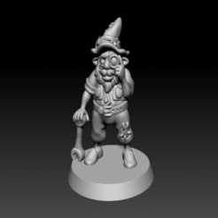 Download free STL file Supportless Gnome • 3D printable object, zeid