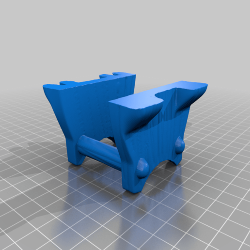 MimicBarrelLegs.png Download free STL file Supportless Barrel Mimic • 3D printable model, zeid
