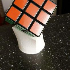 photo_2020-10-17_20-24-13.jpg Download free STL file RUBIK'S CUBE HOLDER • 3D print model, Dev92xxx