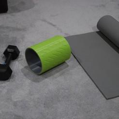 Télécharger fichier imprimante 3D gratuit Muscle Roller, plasticpasta
