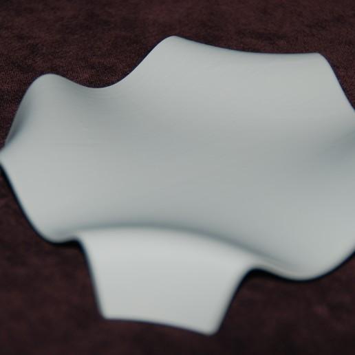 DSC_0832.JPG Download free STL file Mathematical Wave Dish • 3D print design, plasticpasta