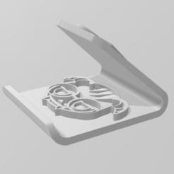 Dokkaebi stand phone-01.png Download STL file Universal Phone Stand Dokkaebi  • 3D printing design, markiegeronimo2