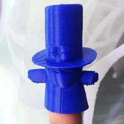 Download free 3D printing models Mr. Hat, Acafab