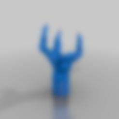 Download free STL file Squash claw adjustable foot - no furniture - 40*40 or 20*40, Ender • 3D printer template, MickeyManu