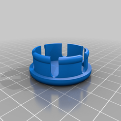 Download free STL file ER-6 frame hole caps - frame plugs for ER-6 • 3D printer object, MickeyManu