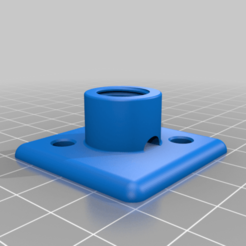 Download free 3D printing templates 4040 profile end locline adapter - support for loc-line hose on profile 4040, MickeyManu
