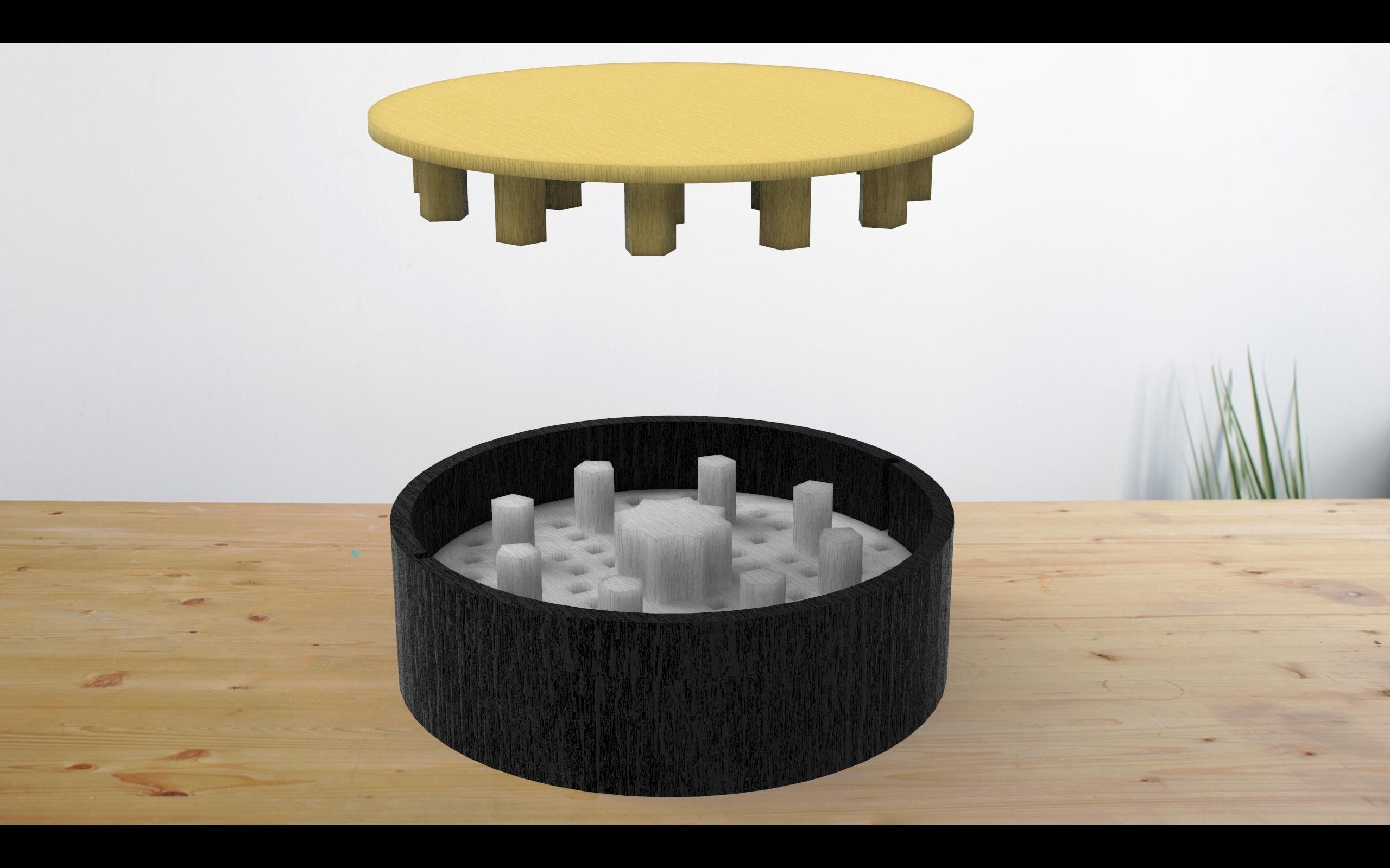 pikachu prueba.jpg Download free STL file Cannabis Crusher with separator • 3D printable design, jhoerchacon_G8