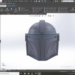 Download free STL files HELMET THE MANDALORIAN THISIS THE WAY SIZE ULTRA (S) KEY RING?, jhoerchacon_G8