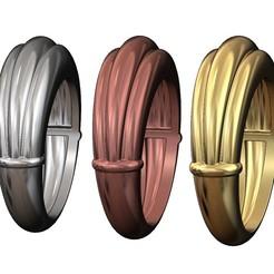 3-DOME-RING-00.JPG Télécharger fichier 3MF 3 Dôme Anneau ondulé Modèle d'impression 3D • Objet pour imprimante 3D, RachidSW